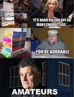 Not sure if killing a character multiple times counts Moffat... cause then whoever wrote in Jean Grey's 40-something deaths in one arc definitely wins this one.