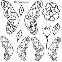 Paper Doll Printables Fairy Wings