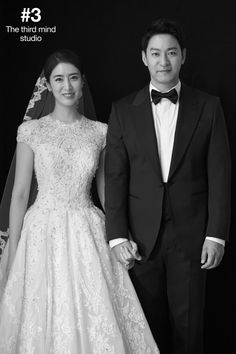 Joo Jin Mo released his official wedding photos a few weeks ago, offering us a clearer view of his new wife. They look alike. Joo Jin Mo, New Wife, Look Alike, Wedding Photoshoot, Scandal, Got Married, Special Events, Marriage, Wedding Dresses