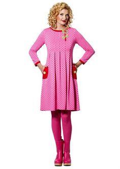 80a7d8c2094a du Milde kjole Almina Crazy Pattern