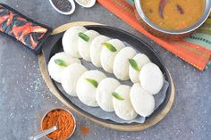 Soft and fluffy Instant Rice Idli (steamed cakes) prepared with rice flour & lentil flour. No soaking or fermentation required. A famous South Indian delicacy!