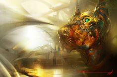 — The awaken Anubis. by ali-kiani-amin on deviantART