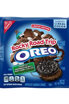 Weird Oreo Flavors, Cookie Flavors, Oreos, Salted Caramel Fudge, Salted Caramels, Oreo Cookies, Yummy Cookies, Snack Recipes, Snacks