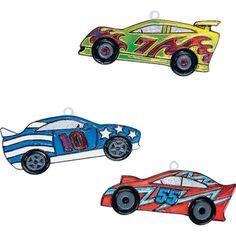 Fun Express Race Car Sun Catchers (1 dz)