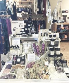 Working with pop up event. Healing begins within, we offer natural tools to aid in spiritual growth, cleansing, meditations and manifestation. Yoga is a powerful practice to connect mind, body and soul. Merchandising Displays, Store Displays, Love And Light, Light In The Dark, She's A Witch, Metaphysical Store, Crystals Store, Future Shop, Mind Body Spirit