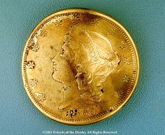 Gold Coin found in H. L. Hunley, CSS submarine