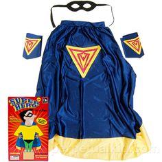SUPER HERO IN A BOX COSTUME #costume #halloween