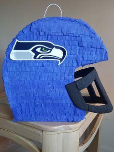 Football Helmet Pinata inspired by Seahawks