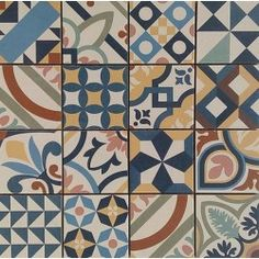 Mosaique gr s c rame patchwork color mosa que 31 8x31 8cm for Barwolf carrelage