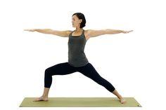 30  Beginner Yoga Poses That Aren't Intimidating: Warrior II (Virabhadrasana II)