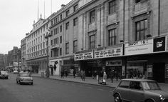 The Savoy Cinema, O'Connell Street, 1971 Old Pictures, Old Photos, Old Irish, Ireland Homes, Dublin City, A Whole New World, Theatres, Movie Theater, Cinema