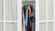 Make the most of your tiny wardrobe with these space saving tricks Saving Tips, Space Saving, Closets, Small Spaces, Rv, Organize, Storage, How To Make, Home Decor