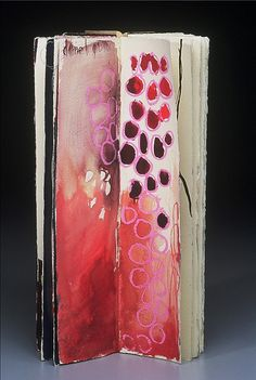 leslieavonmiller: (by jennifer brook) I love book art! Artist Journal, Artist Sketchbook, Art Journal Pages, Collages, Sketchbook Inspiration, Art Journal Inspiration, Altered Books, Altered Art, Art Journaling
