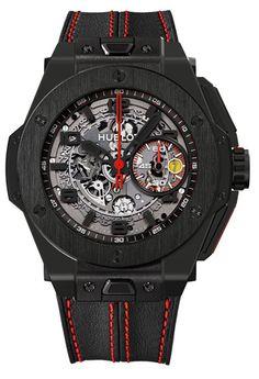 Hublot Big Bang Ferrari Ceramic Watch Baselworld 2013 Preview: Hublot Big Bang Ferrari Watches
