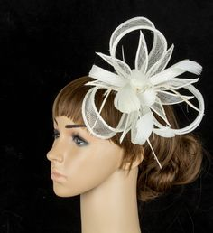 Free shipping  retail and wholesale 8 color  high quality sinamay fascinator hats,very nice bridal hair accessoires,FS09