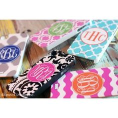 "| ""Simply Stated"" Monogram iPhone 4/4S Cases 