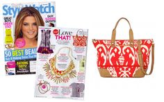 Swooning over the The Getaway – Red Ikat by Stella & Dot featured in People Style Watch