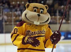 Hockey Goldy. The best mascot in College Hockey. Period.
