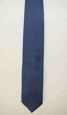 Fabio Ferretti Hand Made in Italy 100% Silk Mens Blue Neck Necktie Tie 62in #FabioFerretti #Tie
