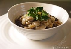 Healthy Recipes for the 5:2 Diet - Mushroom Stroganoff - Managing your two 5:2 Diet Fast days - Mushroom Stroganoff with Lentils makes a balance meal.