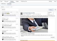 Some Facebook page administrators are seeing an Activity tab in their admin panels in place of the Notifications tab.
