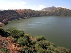 Bishoftu is one of just under a dozen crater lakes at Debre Zeyit, Ethiopia.