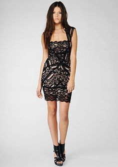 """sexy in """"am I a #dress?"""" or """"am I a lingerie?"""" kind of way #lace @nicolemiller"""