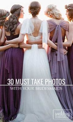 30 Must Take Wedding Photos With Your Bridesmaids ❤ Don't forget to include your bridesmaids in your wedding album. See more: http://www.weddingforward.com/must-take-wedding-photos-with-bridesmaids/ #wedding #bridesmaids Photo via Instagram @jennyyoonyc