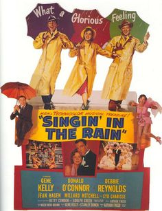 poster The Rain Movie, We Movie, About Time Movie, Old Movies, Vintage Movies, Great Movies, Classic Movie Posters, Classic Movies, Singin In The Rain
