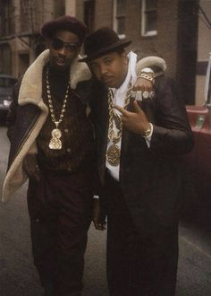 "Slick Rick & Run - ""teenage love"" by slick rick is something to listen too and yes that's the Rev. Run!"