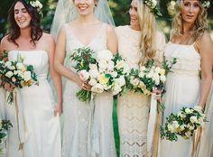 Elegant Garden Wedding in Wine Country   Real Weddings   Oncewed.com