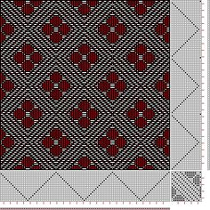 draft image: Page 155, Figure 22, Donat, Franz Large Book of Textile Patterns, 18S, 18T