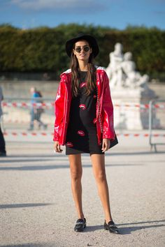 57 incredibly chic looks spotted at Paris Fashion Week: