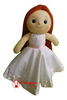 Boneca Daminha Personalizada Gina