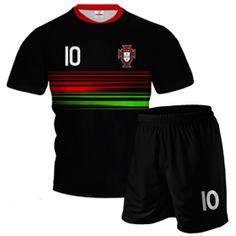 PORTUGALIA 2015/16 Komplet Piłkarski z Własnym Nadrukiem i Numerem