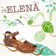 Si lo tuyo es la #comodidad y los zapatos de poca altura échale un ojo a la colección Elena, ¡Te enamorará! Sandals, Shoes, Fashion, Shoe Collection, Spring Summer 2015, Eye, Women, Moda, Shoes Sandals