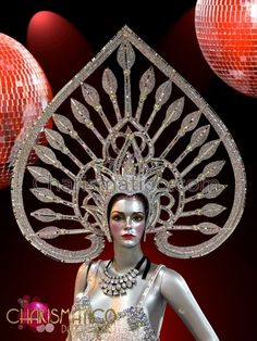 Diva& Spade Shaped Mirror Tile Edged Silver Glitter Queen& Headdress in Clothing, Shoes & Accessories, Dancewear, Adult Dancewear, Outfits Tile Edge, Queen Of Spades, Mirror Tiles, Headgear, Silver Glitter, Headdress, Masquerade, Diva, Carnival