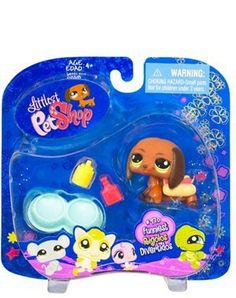 New LPS Littlest Pet Shop Funniest Series Dachshund Puppy Dog with Outfit and Accessories Retired Hasbro Collectible Bobble Head Toy Animal