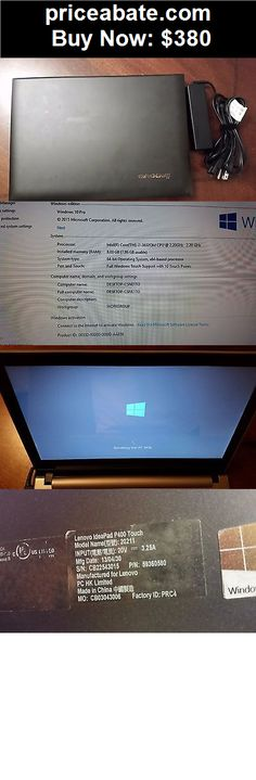 Computers-Tablets-And-Networking: Lenovo Ideapad P400 Laptop Core i7-3632QM 8GB RAM 240GB SSD Windows 10 - BUY IT NOW ONLY $380