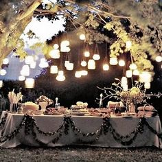 dinner parties and outdoor delights