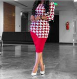 Foreverfad 2020 summer new European and American foreign trade Amazon Red Long Sleeve Dress, Half Sleeve Dresses, Midi Dresses, Red Fashion, Fashion Outfits, Latest African Fashion Dresses, Ankara Fashion, African Traditional Dresses, Mothers Dresses