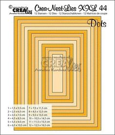 Crealies Crea-Nest-Lies XXL no 35 Double Stitch Stanzschablone Oval