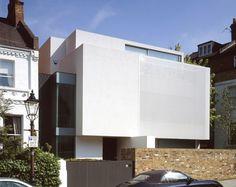 white stretched metal facade - Google zoeken