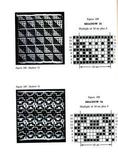 Mosaic Knitting Barbara G. Walker (Lenivii gakkard) Mosaic Knitting Barbara G. Walker (Lenivii gakkard) #165