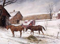 David Armstrong painting