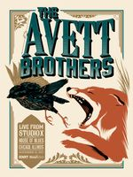 Avett Brothers Poster - House Of Blues, Chicago - Nathan Roberts