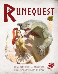 El Descanso del Escriba: Quickstar rules de Runequest para descargar + extr...