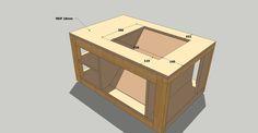 Table for makita MLT100
