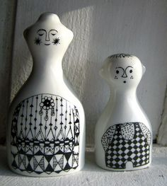 """""""Emilia"""" from Arabia Finland salt & pepper by Hopelevich Hopelitchka"""