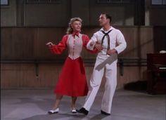 Vera Ellen, Gene Kelly, Hollywood, Main Street, Maine, Normcore, Vintage, Style, Fashion